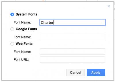 在draw.io中使用其他系统字体