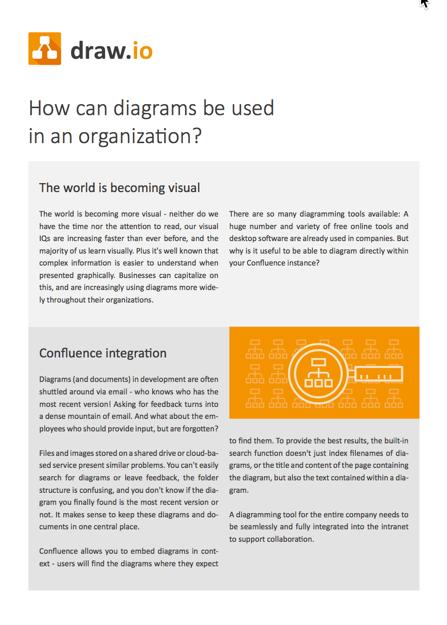 draw.io:可以在组织中使用图表的位置