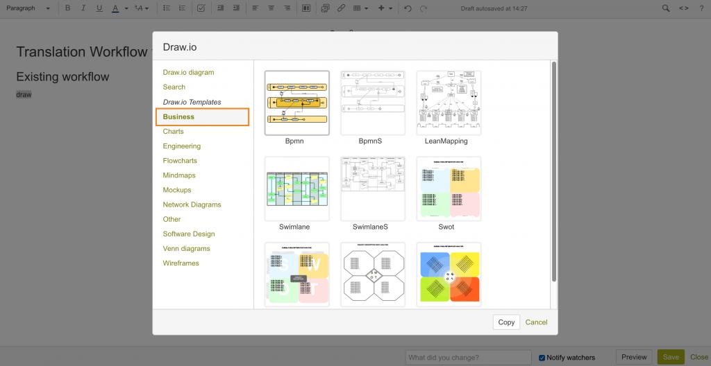 draw.io-业务图模板