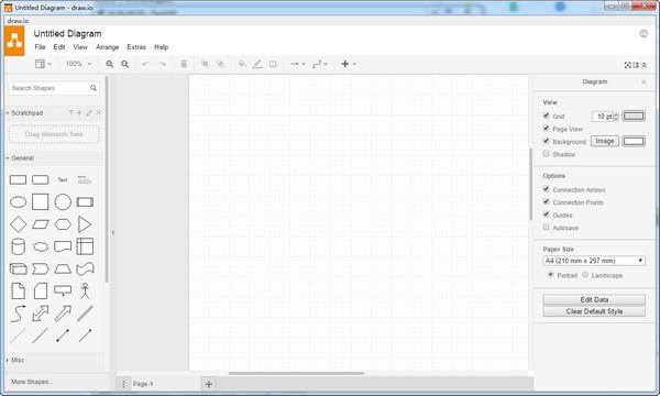 流程图制作软件draw.io