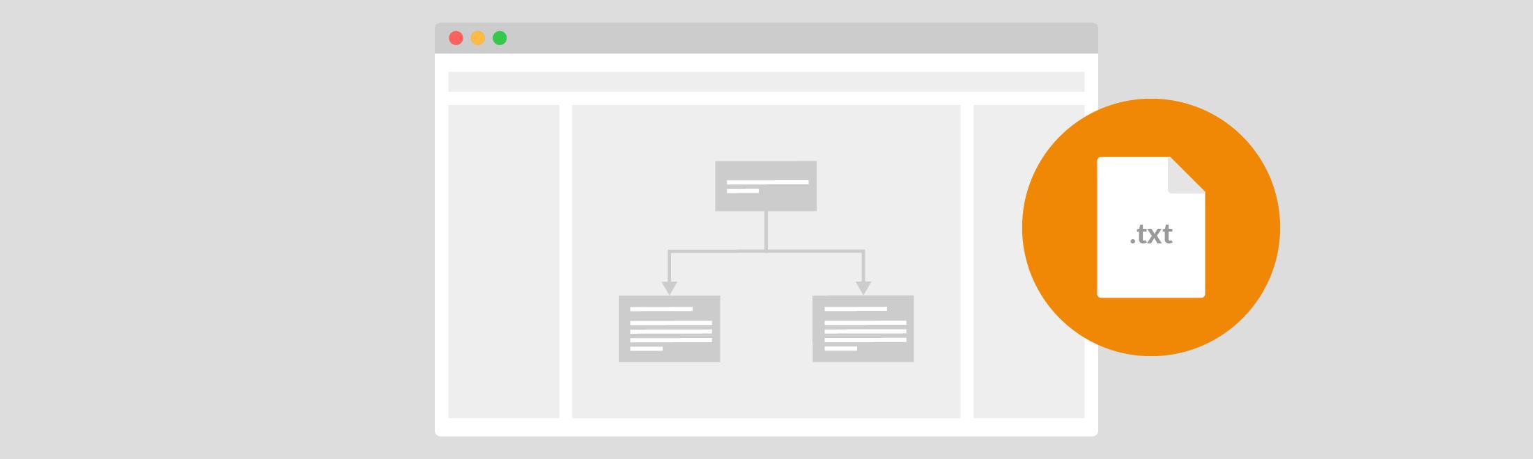 使用draw.io文本插件,您可以直接从任何流程图,图表甚至图表中提取文本。