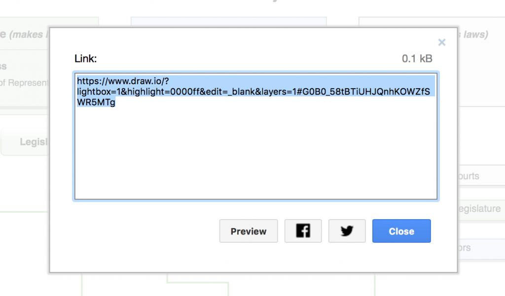 draw.io作为Google云端硬盘的链接发布