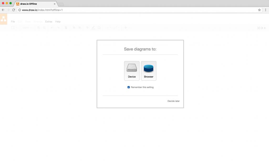 draw.io-在Chrome中离线